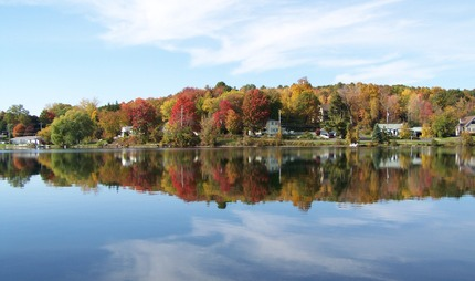 Snyder's Lake in Fall