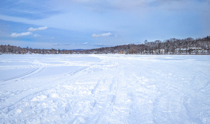Snyder's Lake in Winter